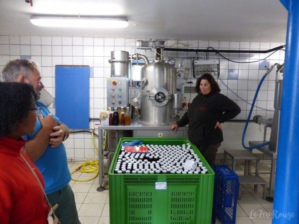 """Visite de l'atelier de fabrication """"Vittupier"""""""