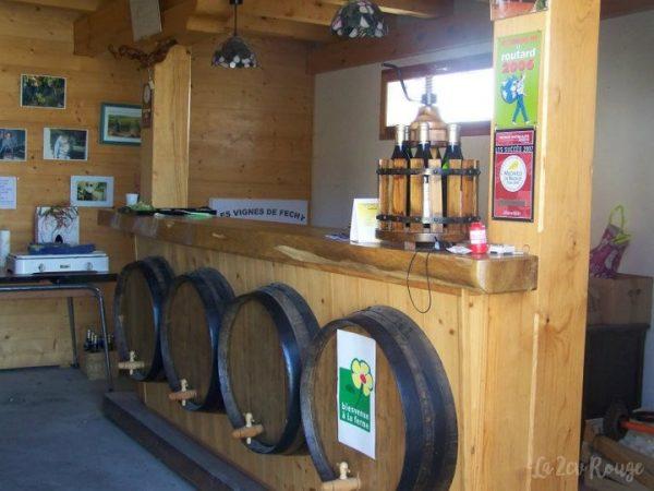 la Présentation des vins